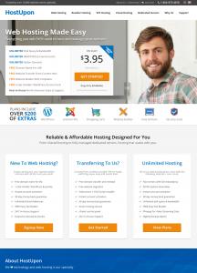 HostUpon NEw Website